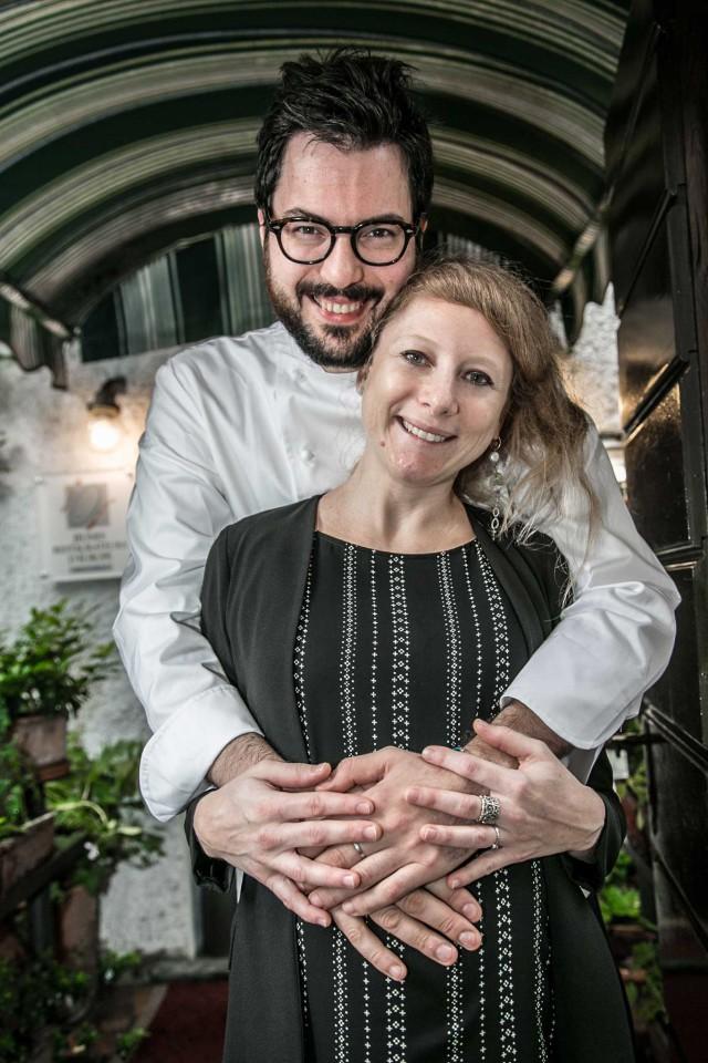 Fabrizio Ferrari e Anna Valsecchi