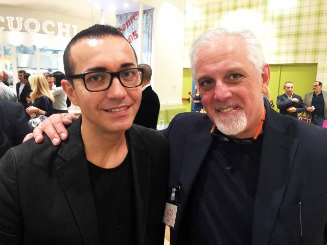 Gino Sorbillo e Franco Costa
