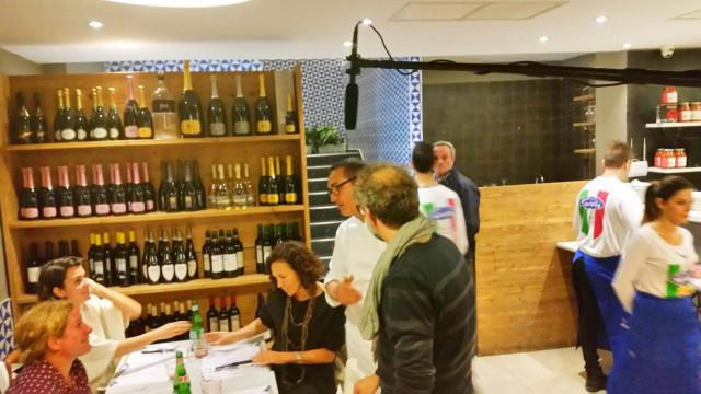 Gino Sorbillo e Massimo Bottura tv