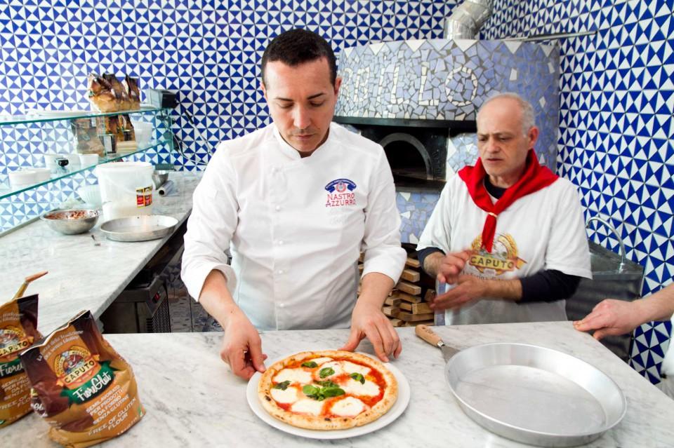 Gino Sorbillo pizza gluten free