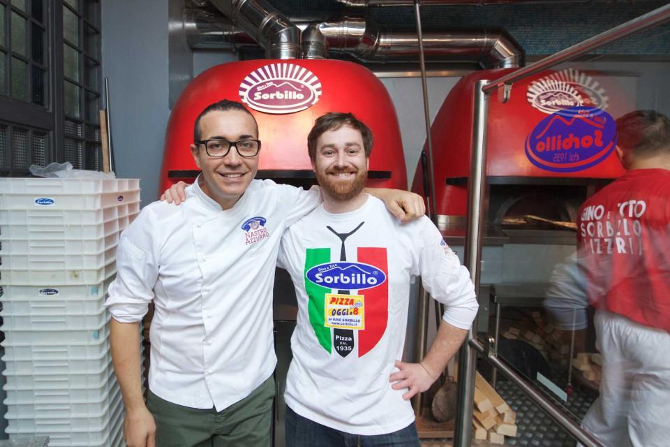 Gino Sorbillo pizzaiolo danese