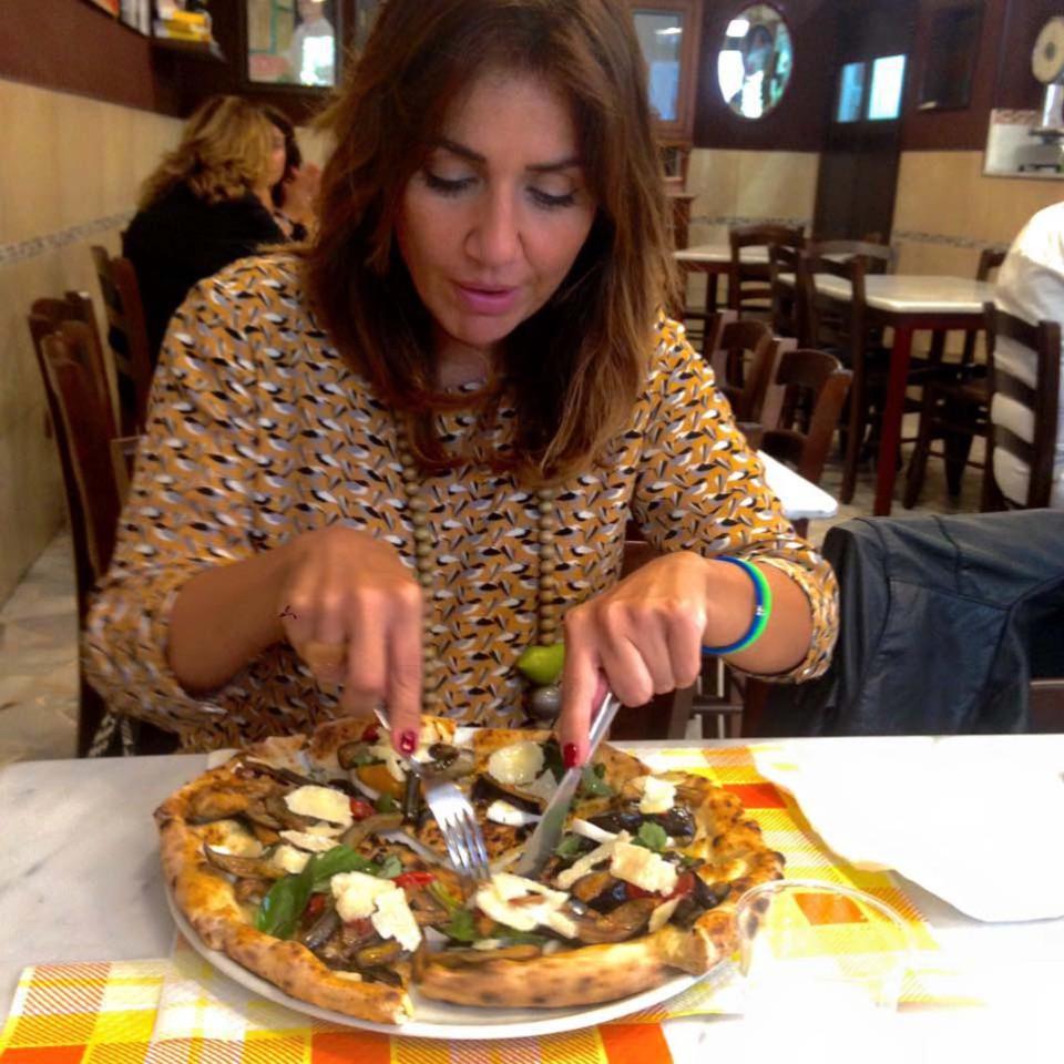 La pizza senza scuorno