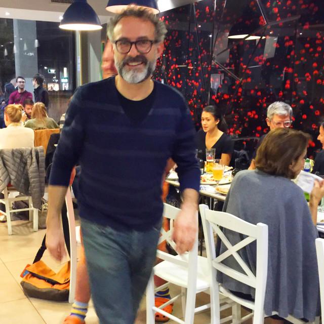 Massimo Bottura in pizzeria