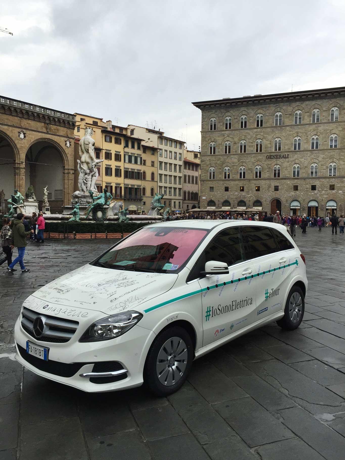 Mercedes elettrica Firenze