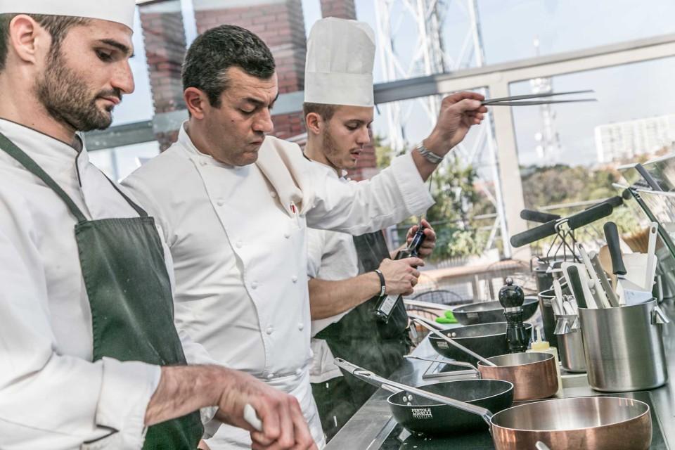 Osteria con Vista Milano cucina