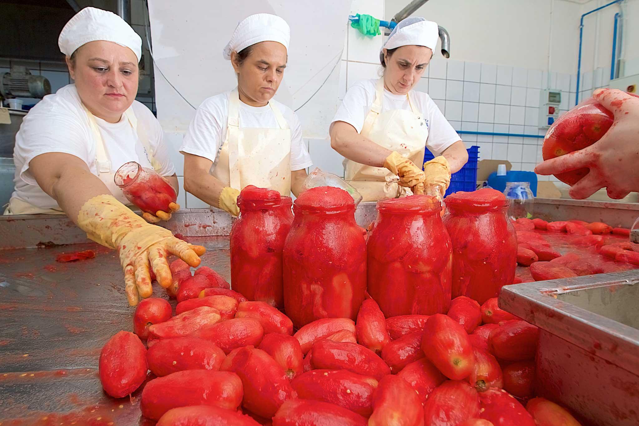 barattoli pomodori San Marzano