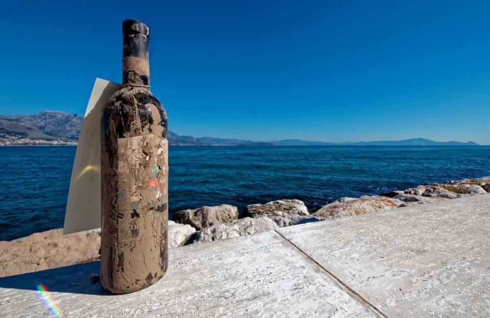 bottiglia vino mare salvata alluvione 8