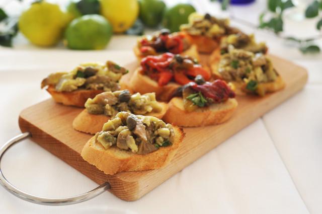 bruschette-verdure