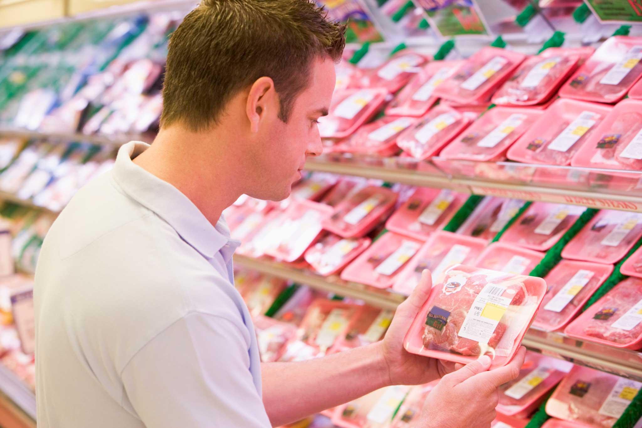 carne rossa supermercato