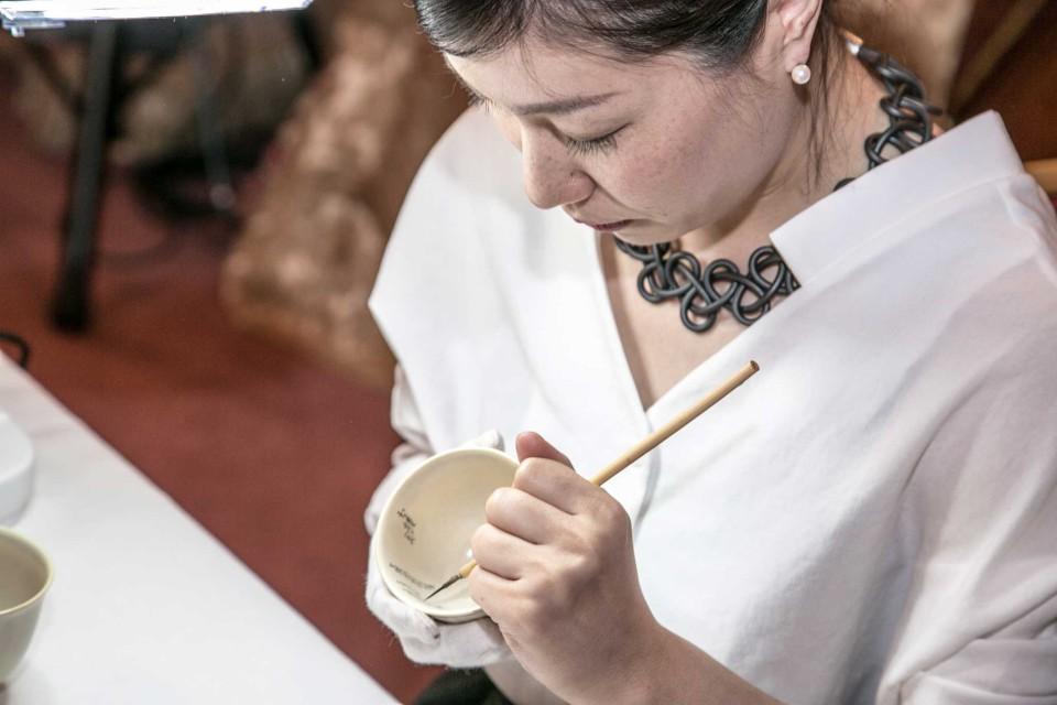 dipinti su ceranica giapponese
