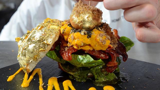 hamburger caviale