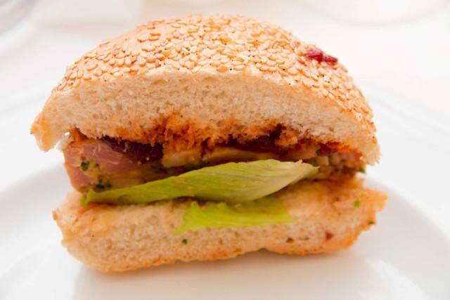 hamburger pesce