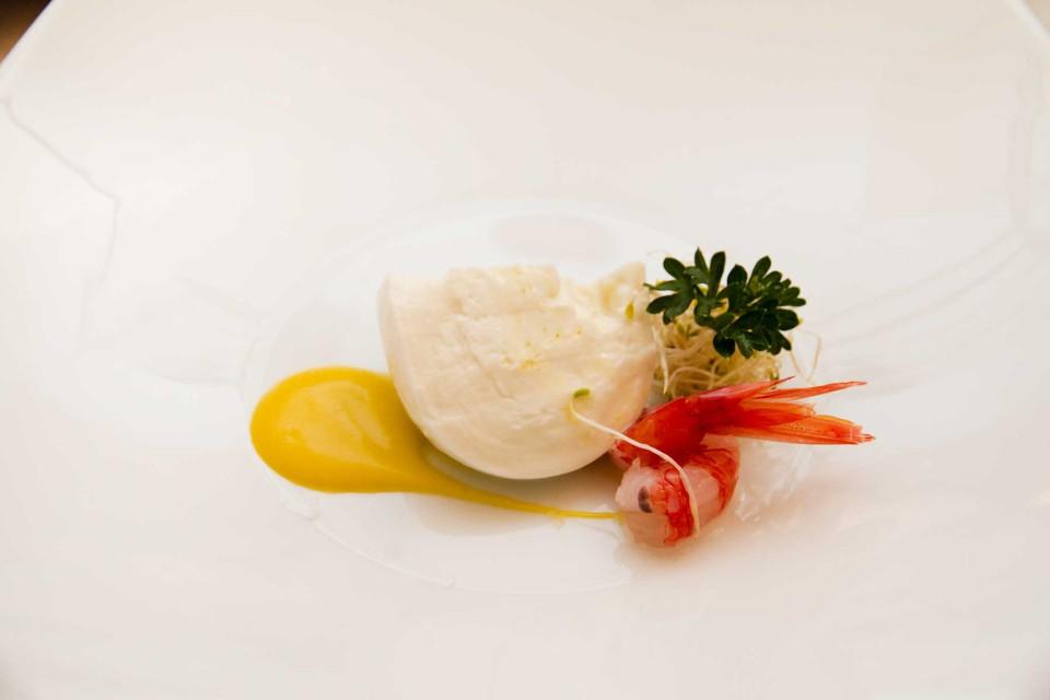 mozzarella e gambero
