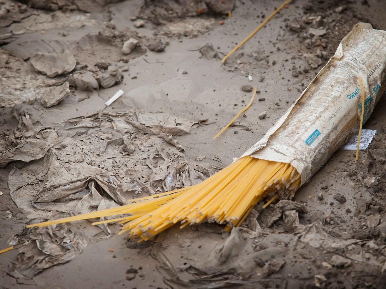 pasta Rummo alluvione