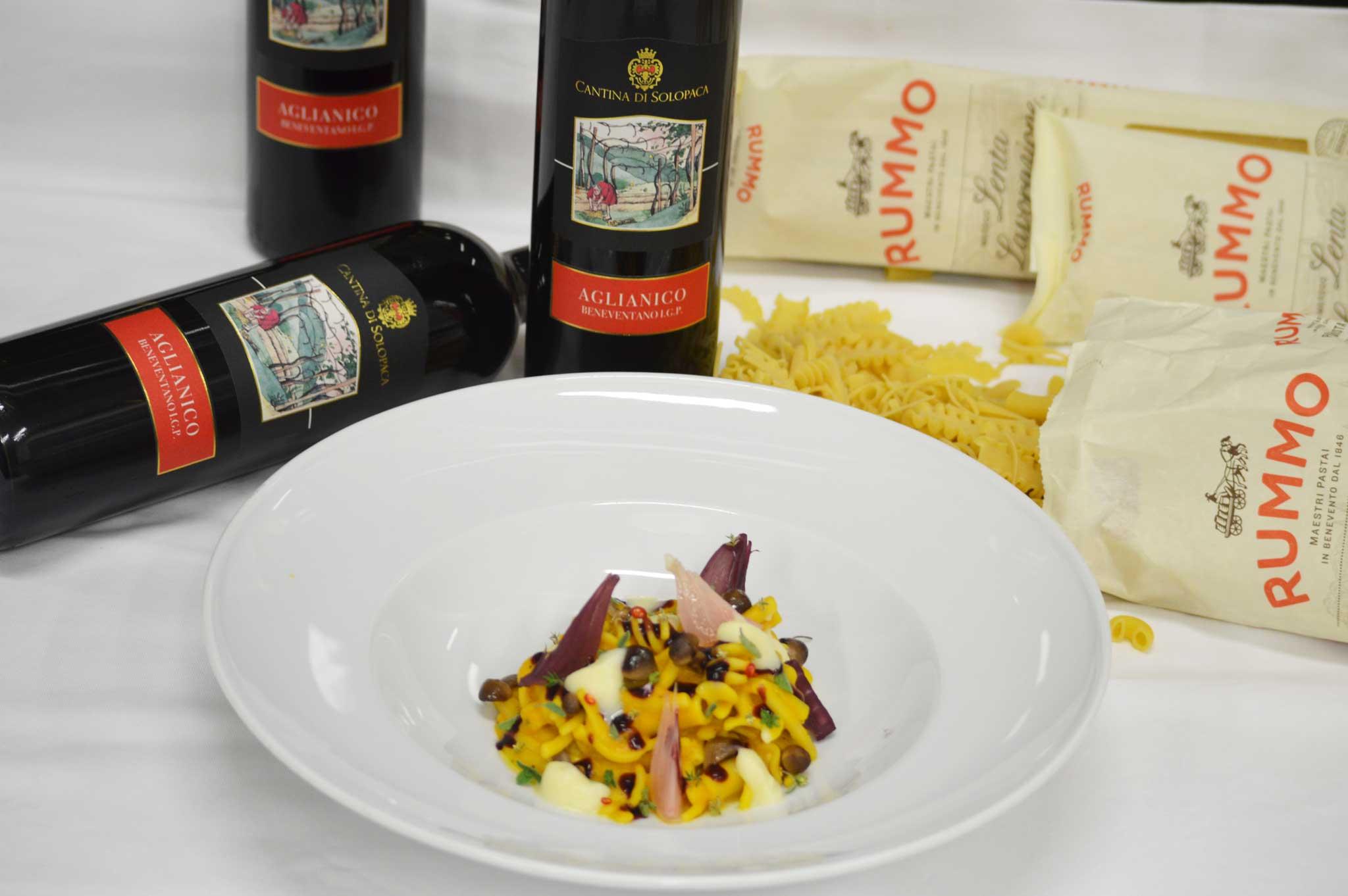 pasta zucca aglianico #saverummo