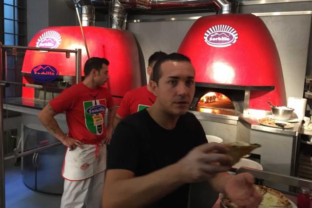 pizza Sorbillo nuovi forni e impasti