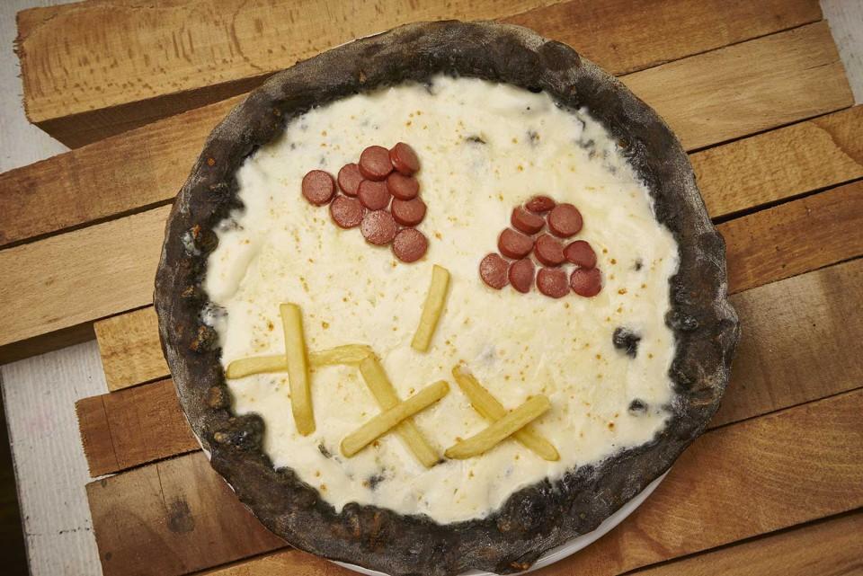 pizza bambini per halloween