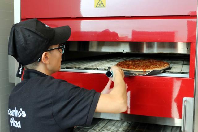 pizza infornata
