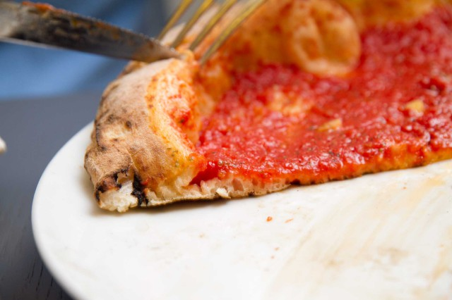 pizza marinara fetta