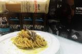 Rummo con la ricetta degli spaghetti alla colatura di alici a Expo