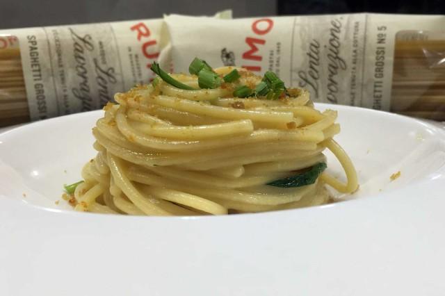 spaghetti Rummo colatura alici Acquapazza