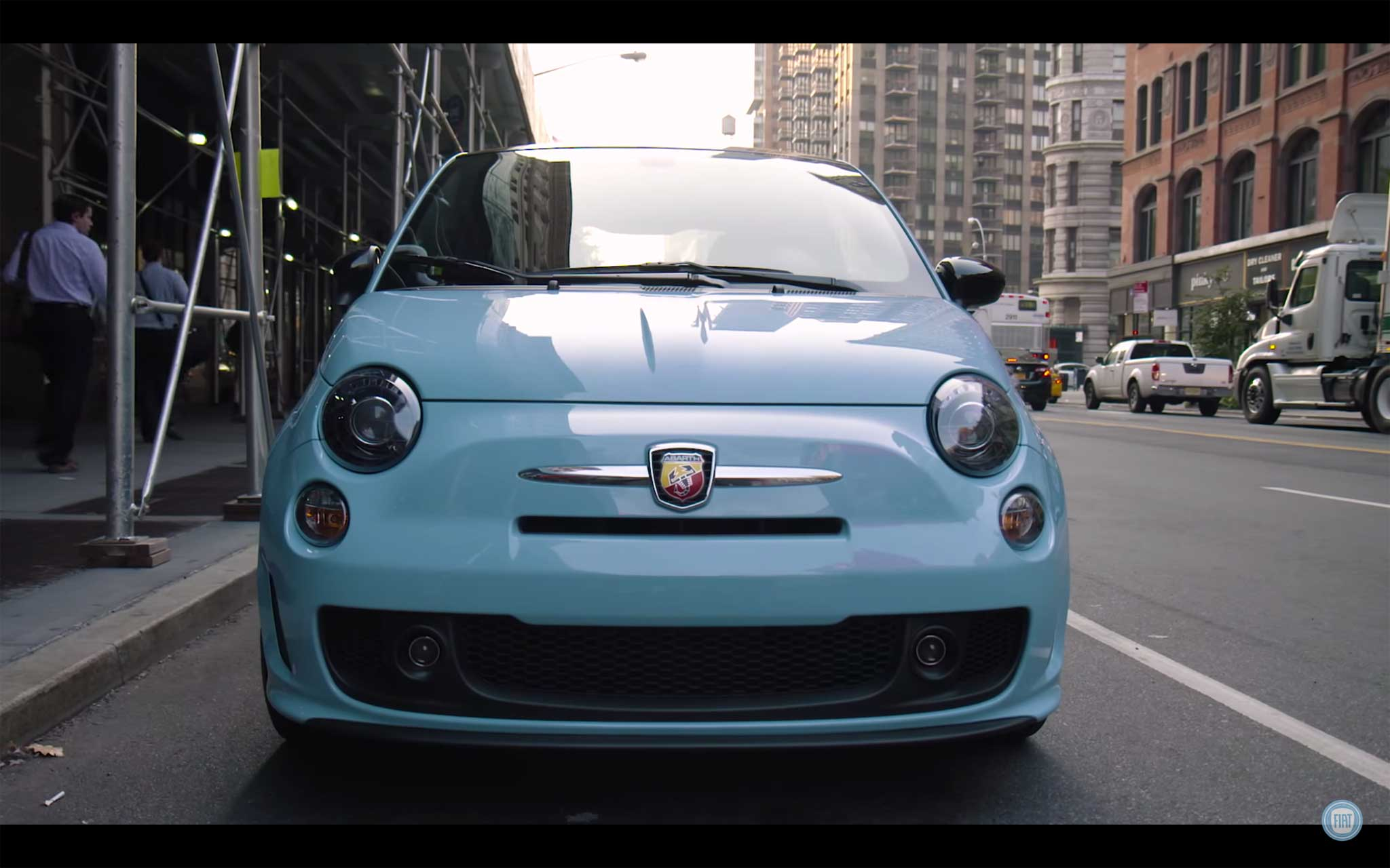 500 Abarth frontale