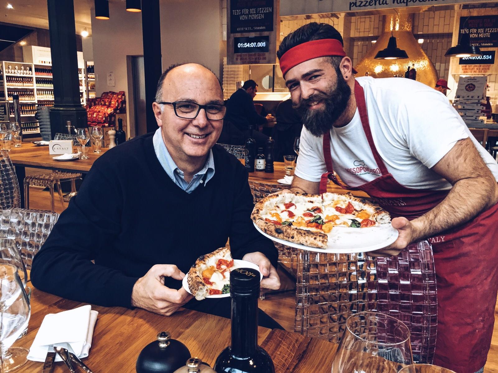La vera pizza napoletana sbarca in germania a monaco - La finestra di fronte andrea guerra ...