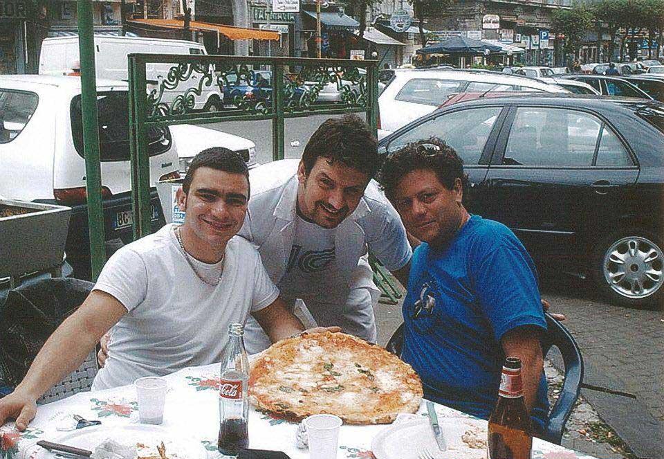 Davide Civitiello pizza a ruota di carretta