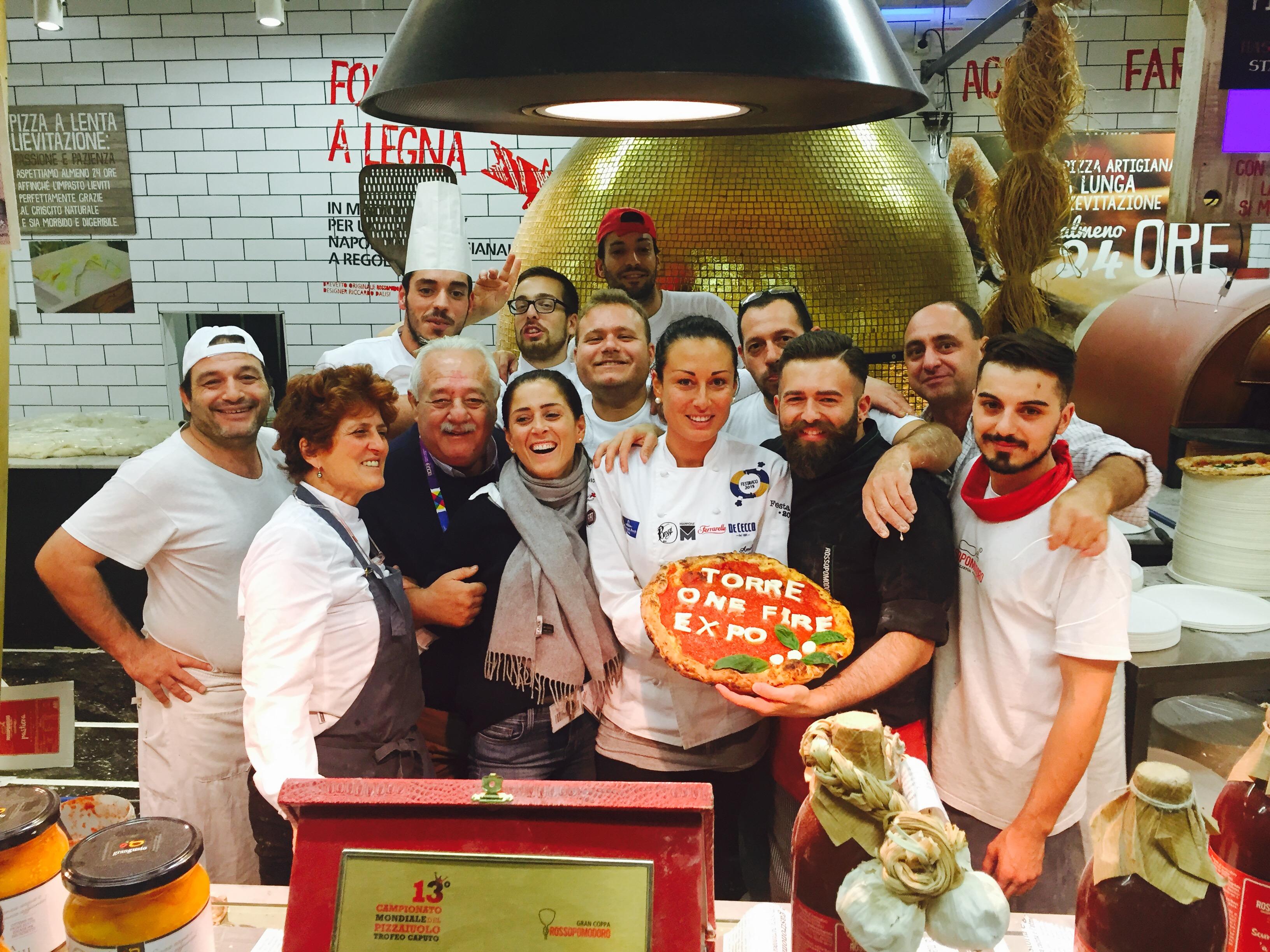 Eataly Expo Rossopomodoro e Torre