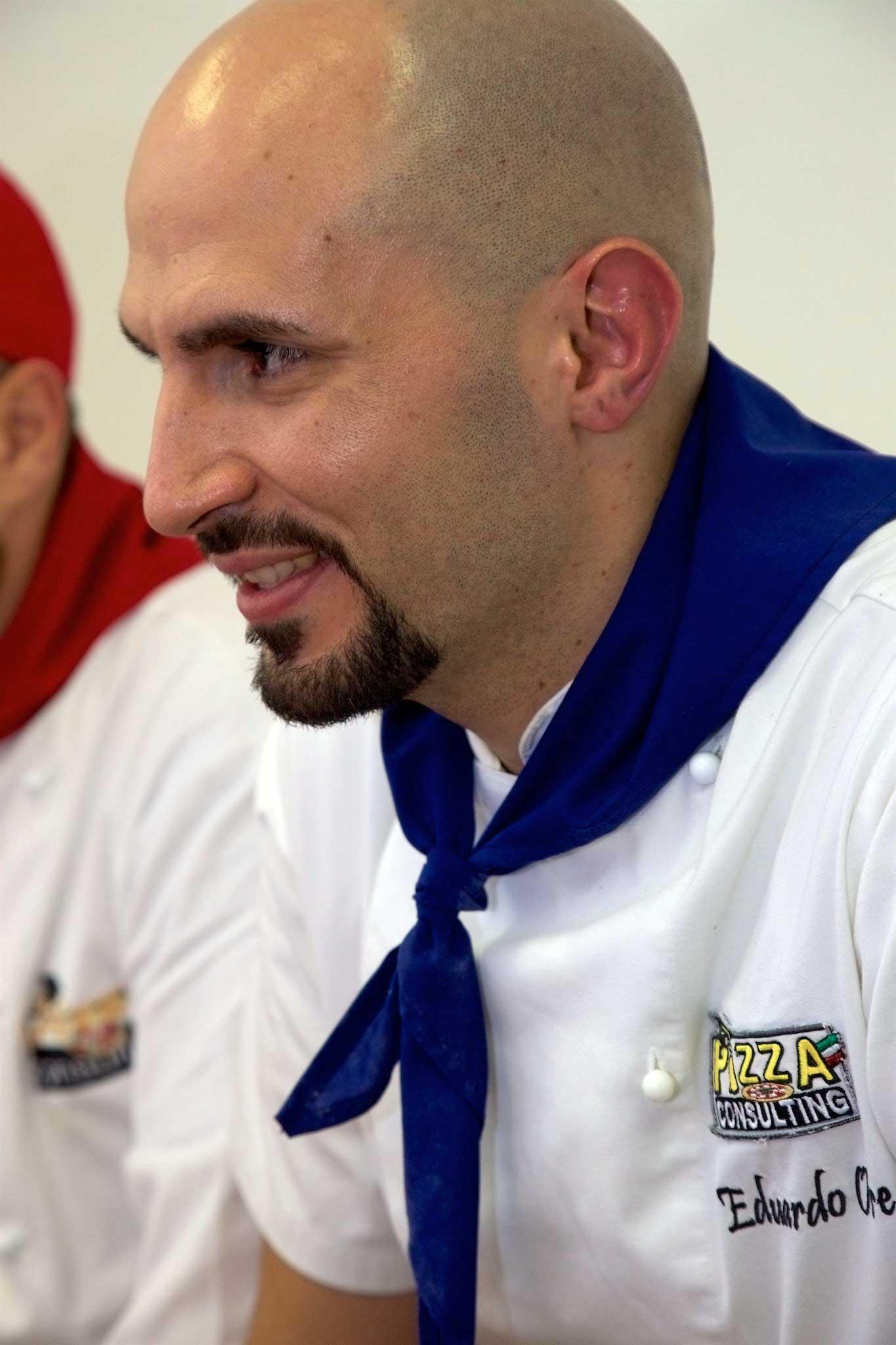 Eduardo Ore pizzaiolo