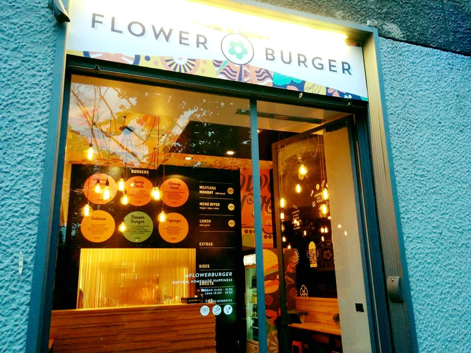 Flower Burger Hamburger vegano Milano