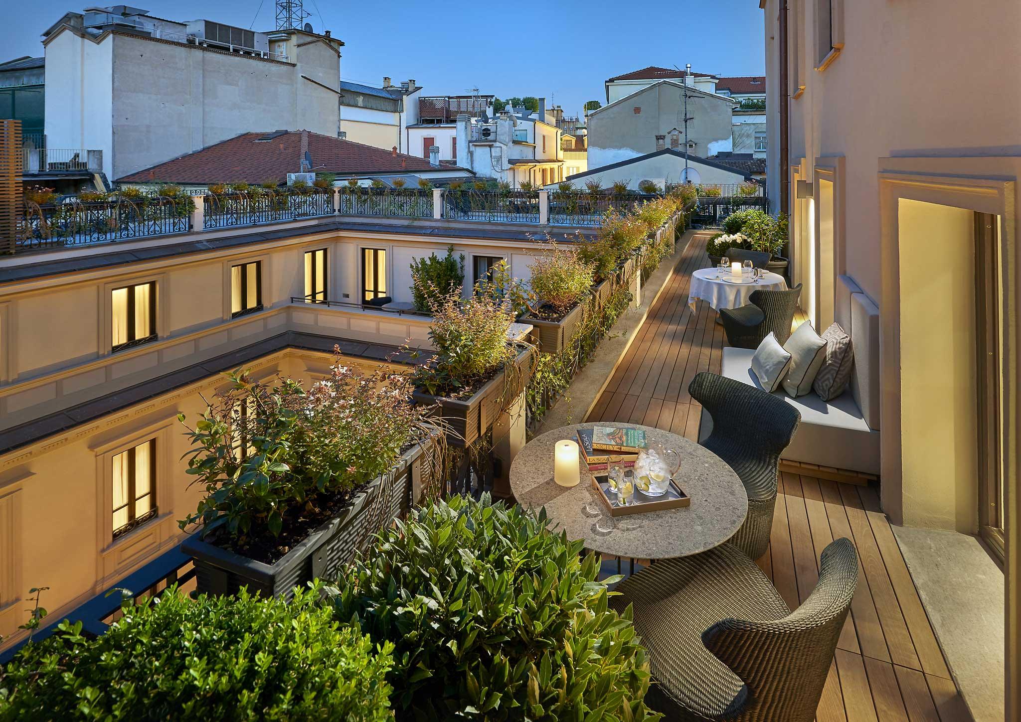 Mandarin Hotel Milano suite