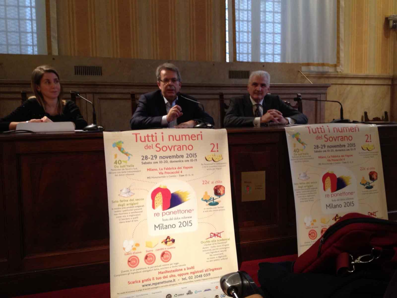 Re Panettone 2015 Milano presentazione