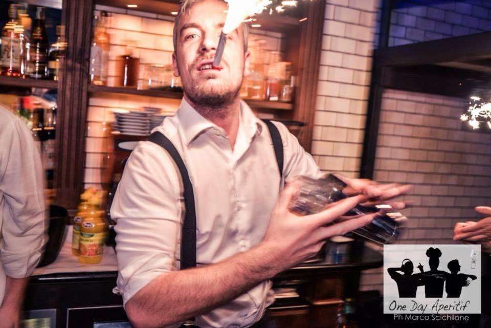 Riccardo Speranza bartender