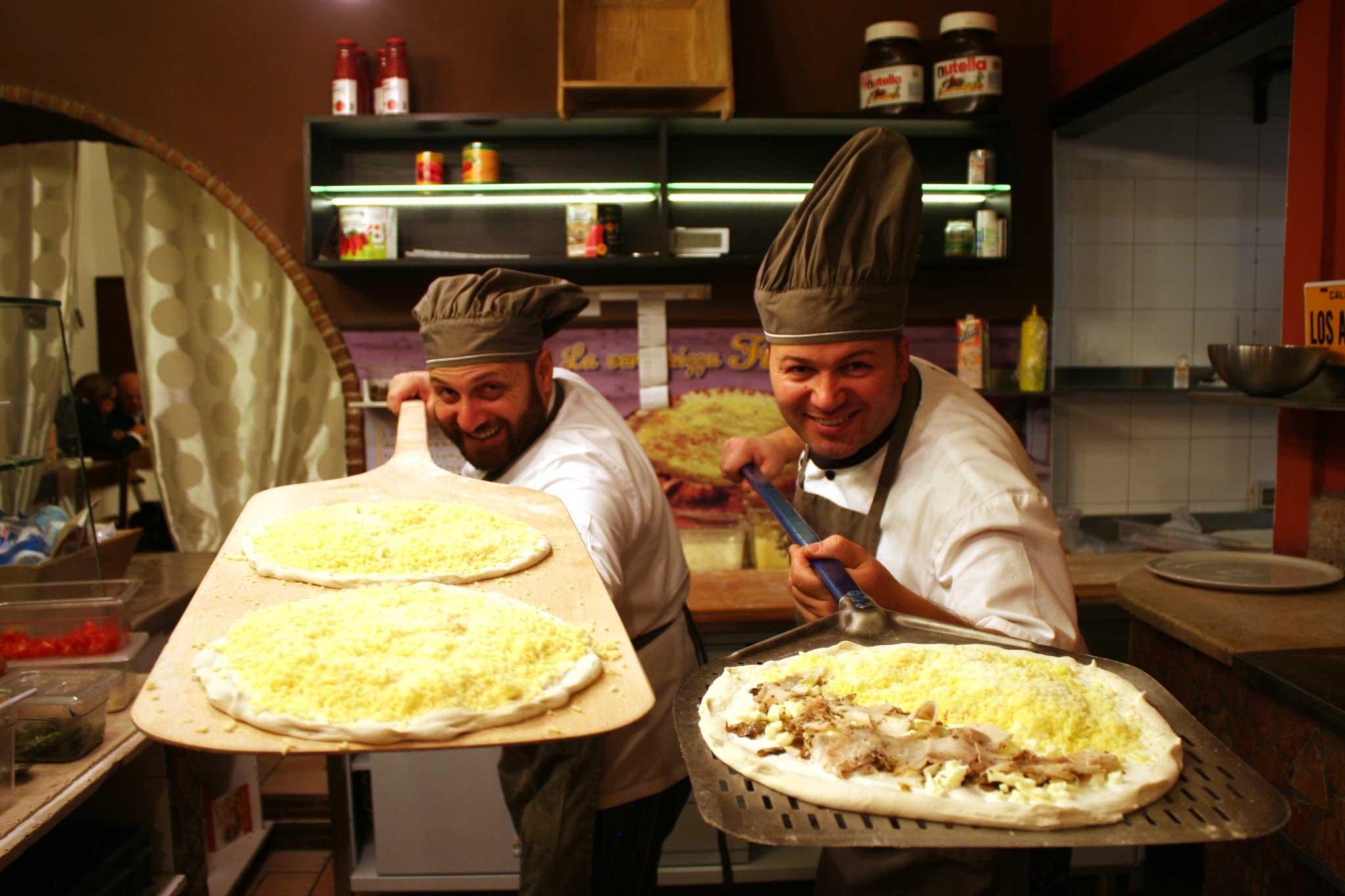 Roberto e Salvatore Susta pizzaioli