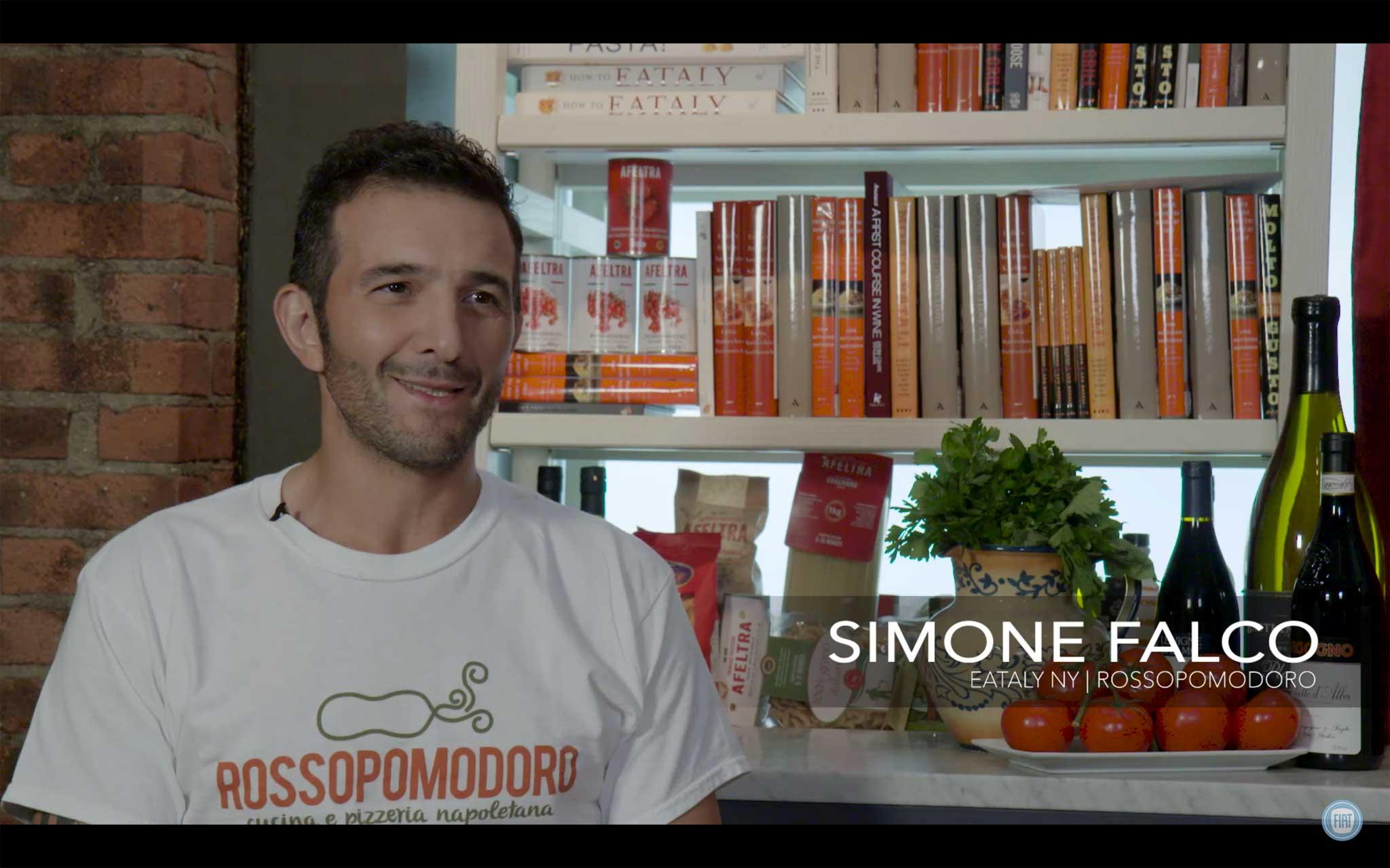 Simone Falco pizzaiolo