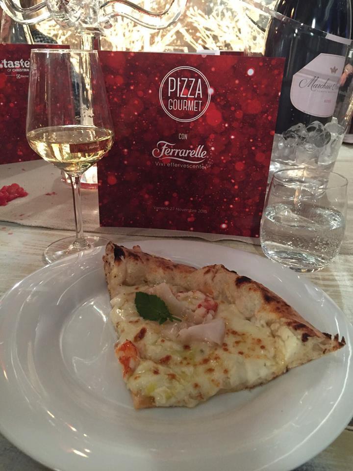 Taste of Bologna pizza