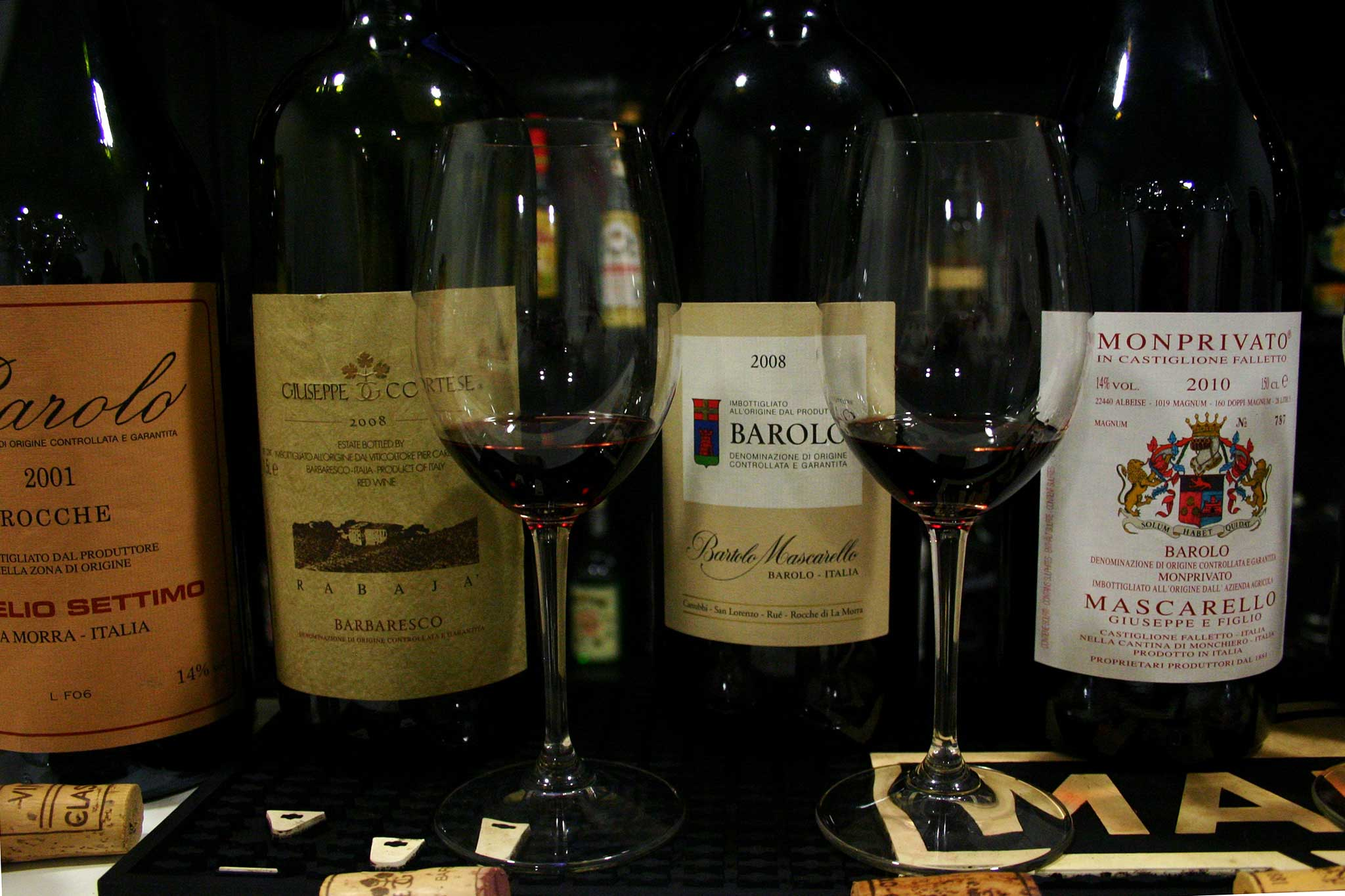 barolo e barbaresco