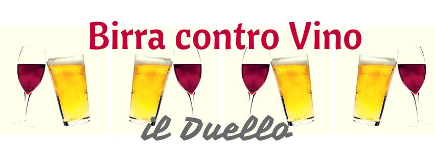birra contro vino