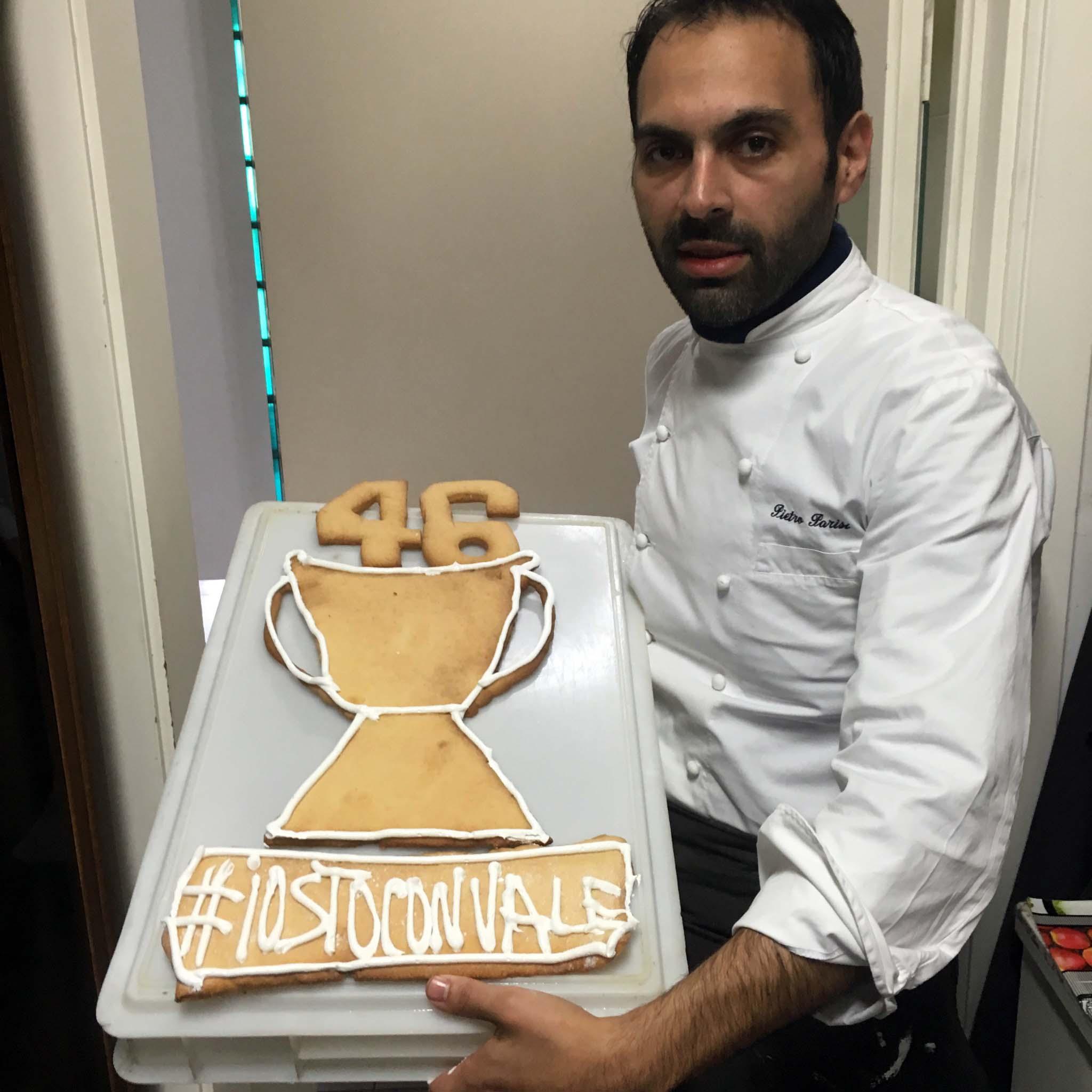 biscotto Valentino Rossi Pietro Parisi