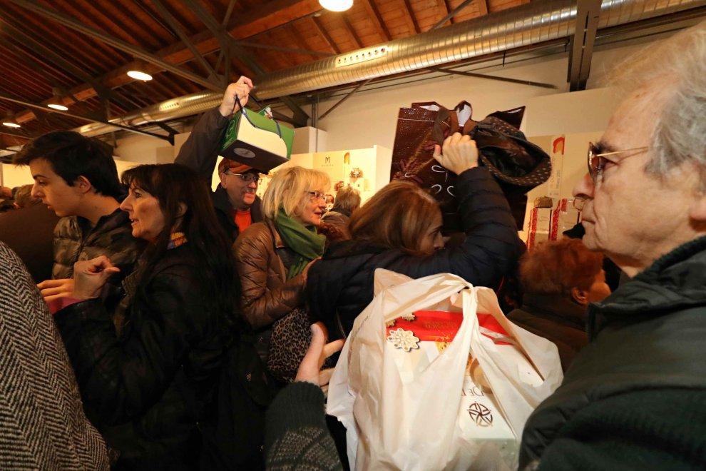 folla a Re Panettone 2015