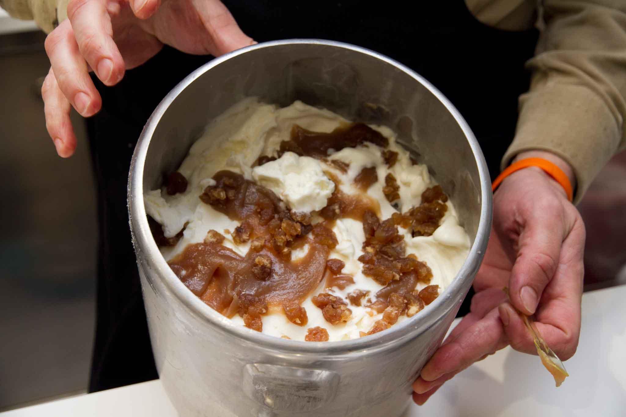gelato fior di castagna