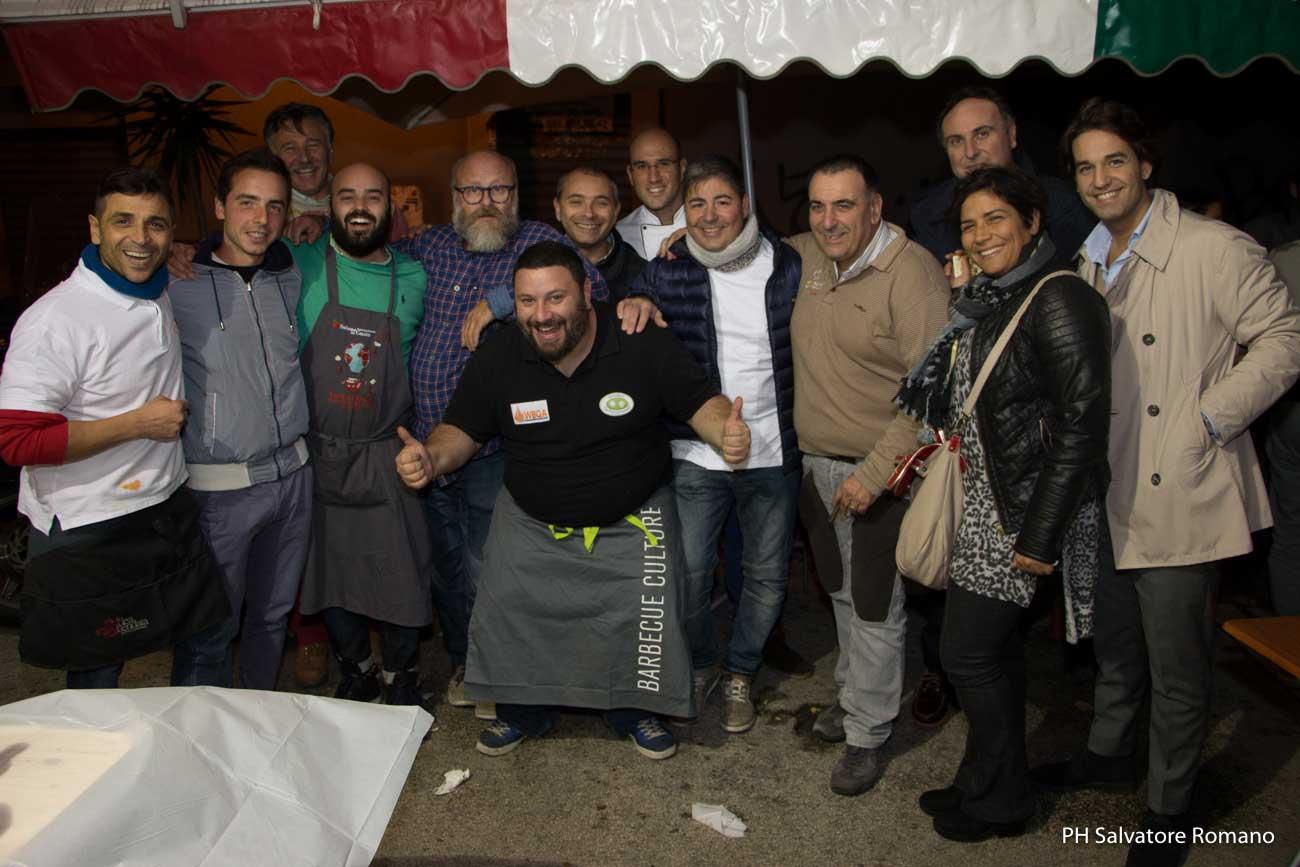 gruppo Campania Mia street food