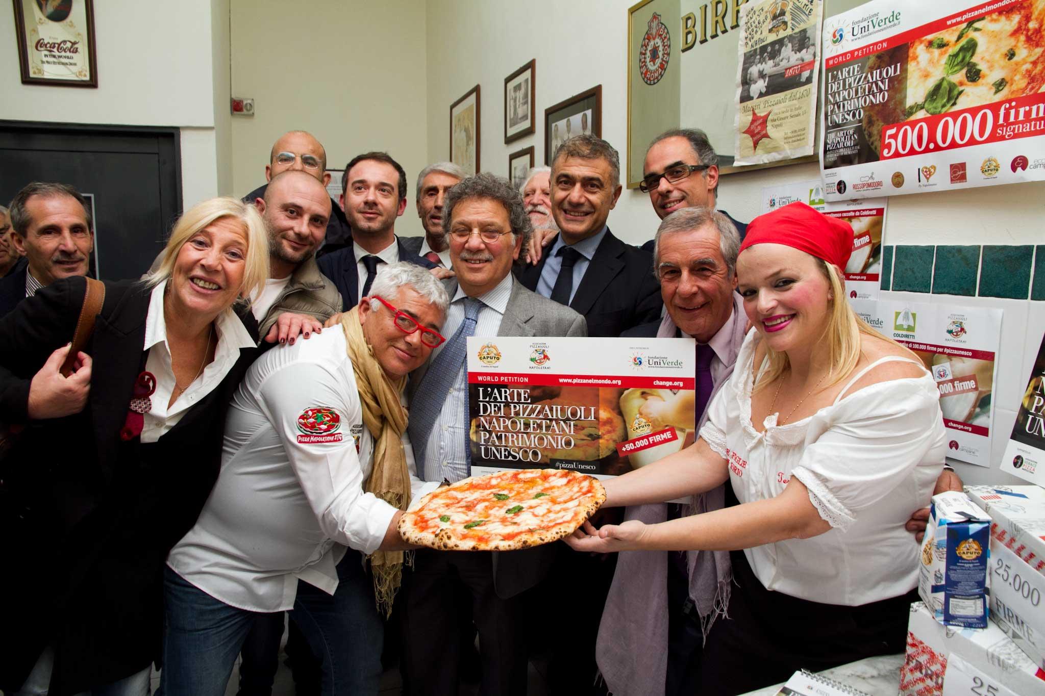 gruppo promotori pizza unesco