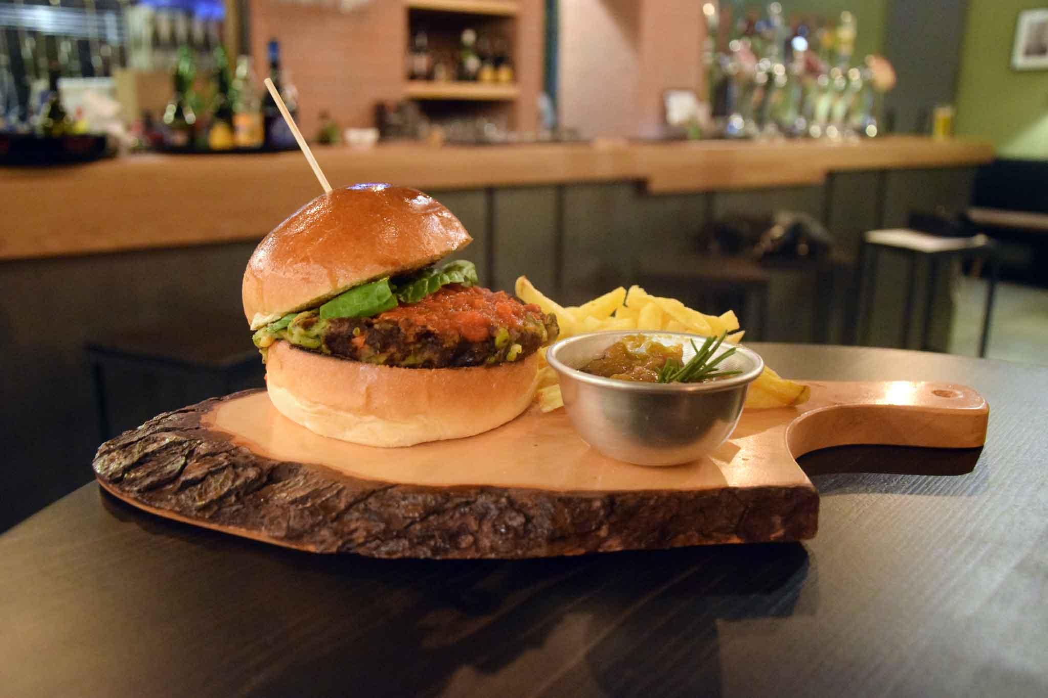 hamburger vegano papin
