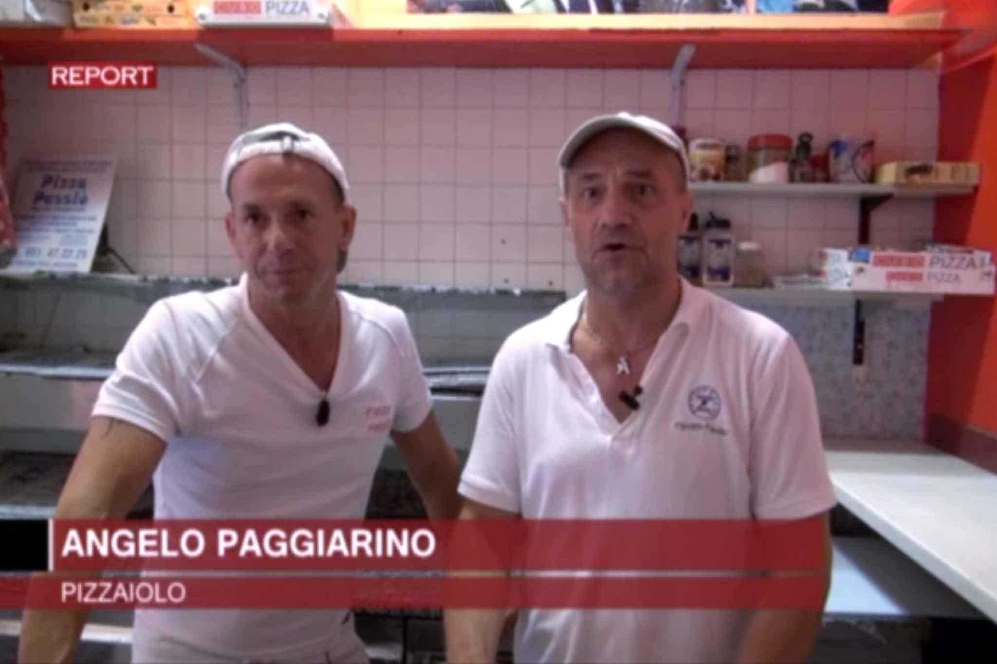 pizza Report Nero a metà