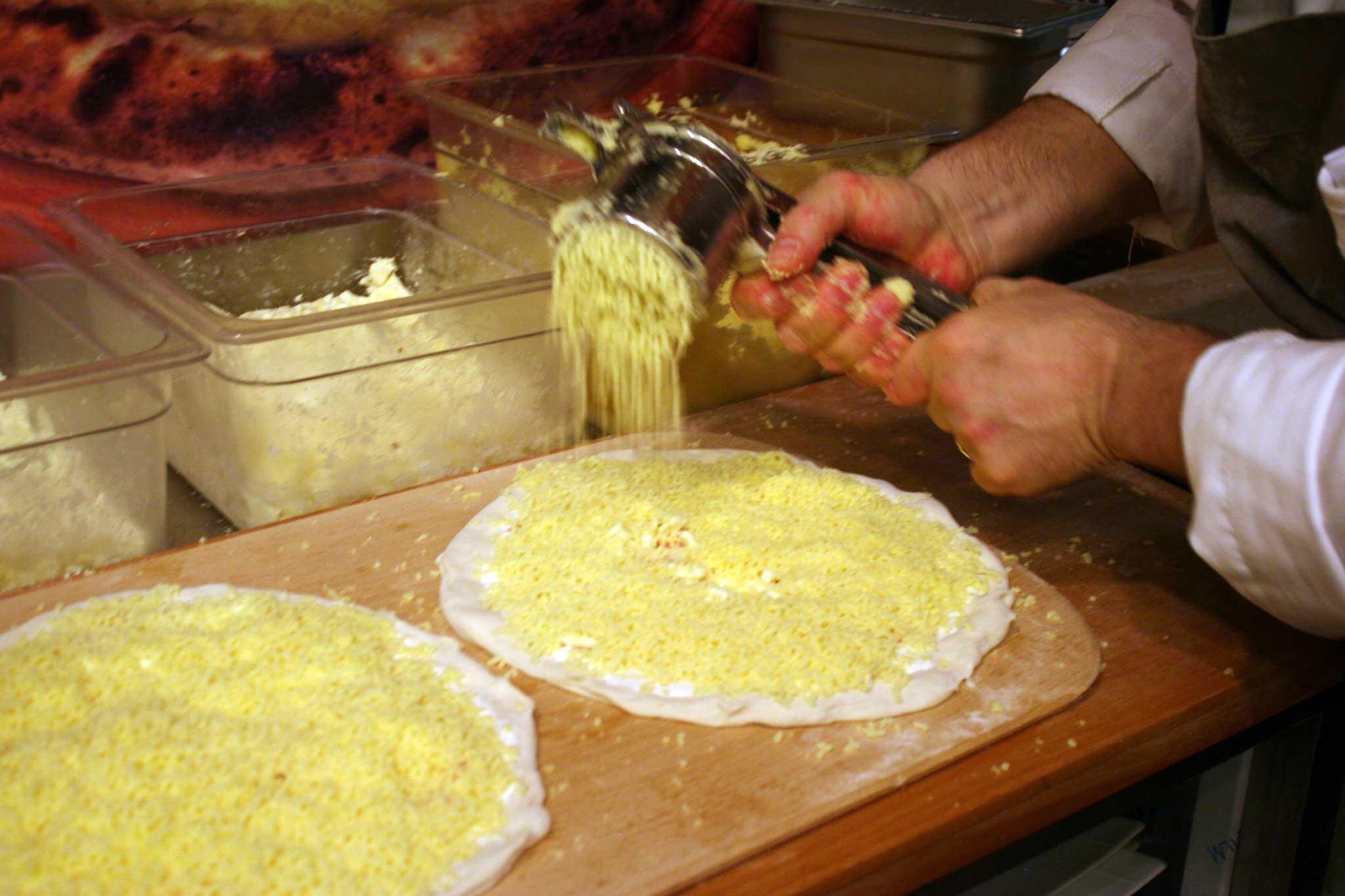pizza fiocco