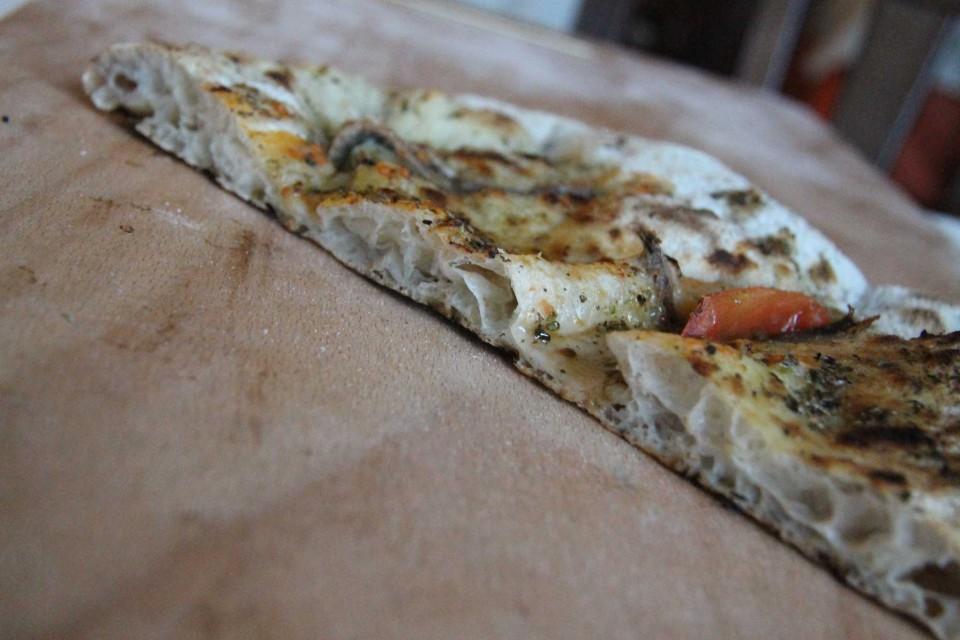 pizza in teglia particolare
