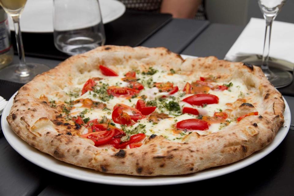 pizza ricci di mare