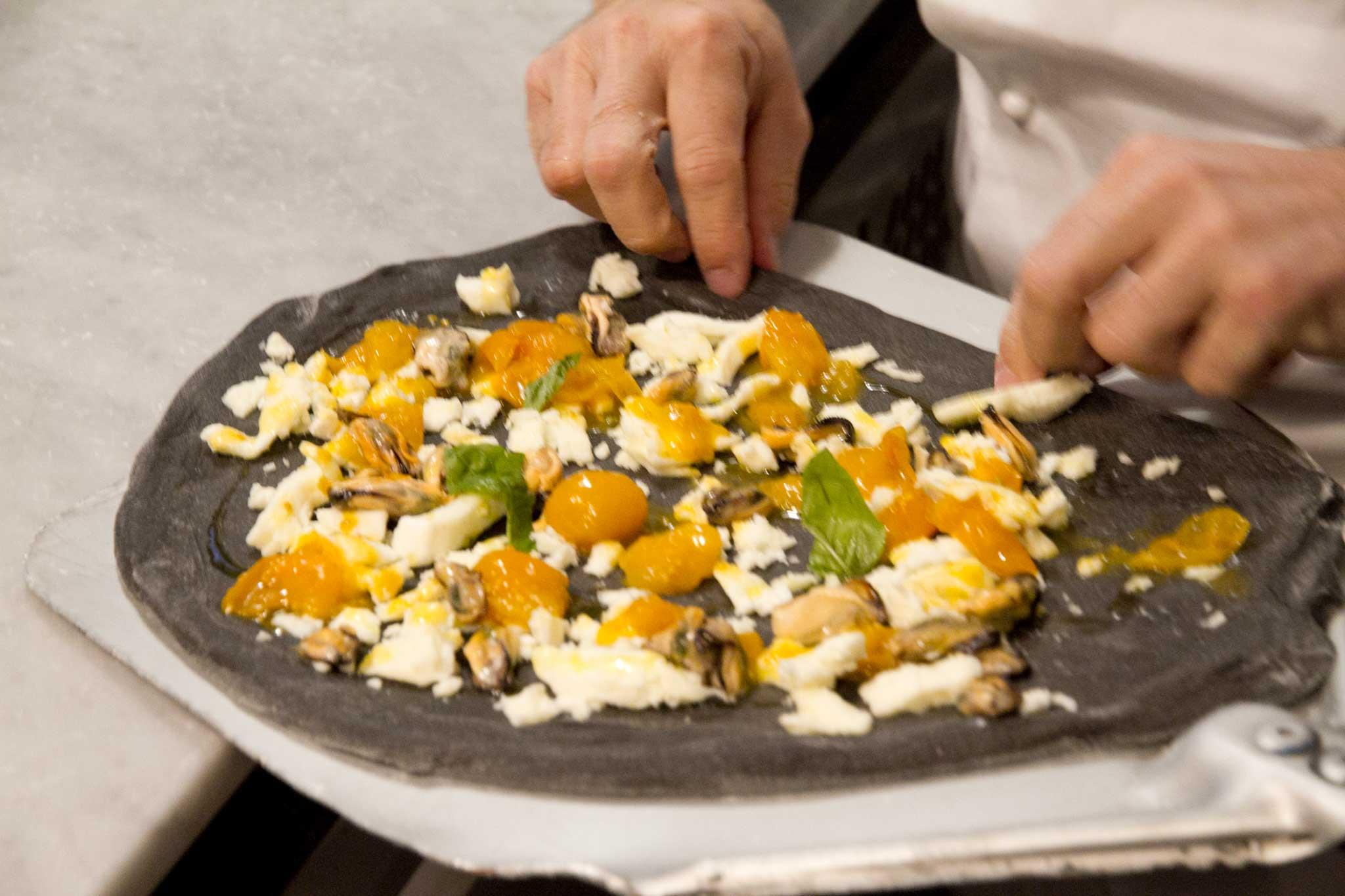 pomodorini gialli pizza